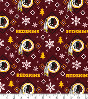"Washington Redskins Flannel Fabric 42""-Holiday, , hi-res"