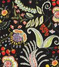 Dena Upholstery 8x8 Fabric Swatch-Hidden Charms/Fiesta