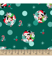 Disney Mickey Mouse Knit Fabric-Christmas Badges, , hi-res