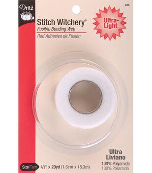 """Dritz Stitch Witchery Ultra Lite Tape-5/8"""" x 20yd"""