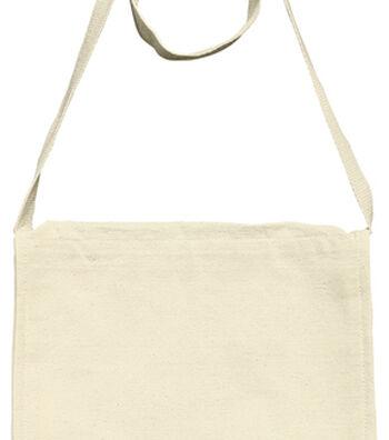 Mark Richards Canvas Book Bag-Natural
