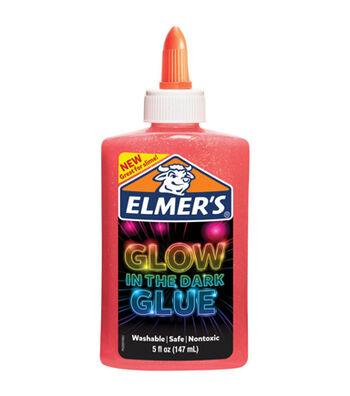 Elmer's 5 fl. oz. Glow in the Dark Glue-Pink