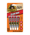 Gorilla Clear Grip 4 pk Contact Adhesives