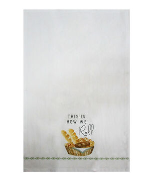 Simply Autumn Tip Towel-This is How We Roll
