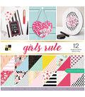 DCWV 12x12 Girls Rule Stack