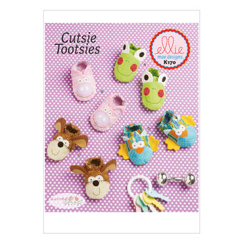 Kwik Sew Pattern K0170 Infants' Animal Booties