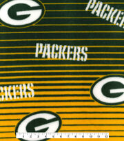 Green Bay Packers Fleece Fabric -Linear, , hi-res