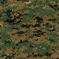 Digital Woodland Shirting Fabric -Camouflage