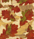 Harvest Cotton Fabric -Large Tossed Leaves