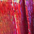 Let\u0027s Pretend Linear Sqeuin Fabric-Red Orange