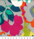 Anti-Pill Fleece Fabric 62\u0022-Happy Floral