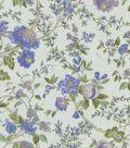 Home Decor 8\u0022x8\u0022 Fabric Swatch-Waverly Lavaliere/Larkspur