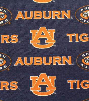 "Auburn University Tigers Canvas Fabric 58""-Logo"