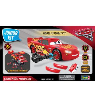Revell Junior Model Kit-Disney Lightning McQueen Car