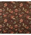 Home Decor 8\u0022x8\u0022 Fabric Swatch-Jaclyn Smith Colbert-Coffee