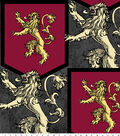 Game of Thrones Fleece Fabric 59\u0022-House Lannister Sigil