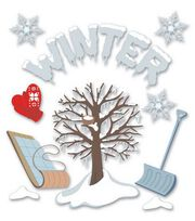 Jolee's Boutique Themed Ornate Stickers-Winter, , hi-res