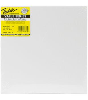 "Tara Fredrix Square Cut Edge Canvas Panel 6/Pkg-12"""