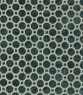 Home Decor 8\u0022x8\u0022 Fabric Swatch-Robert Allen Velvet Geo Turquoise
