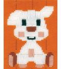 Vervaco iStitch Kits 4 Kids 5\u0027\u0027x6.4\u0027\u0027 Longstitch Kit-Doggy