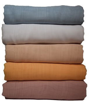 Casa Collection Solid Chiffon Fabric