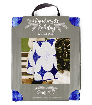 It's Sew Simple Handmade Holiday Christmas Starry Night Quilt Kit