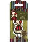 Santoro Rubber Stamps-No. 37, Dear Apple