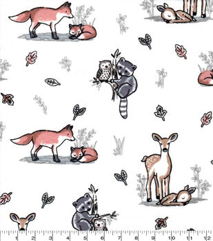 Nursery Flannel Fabric-Aspen Mom And Baby