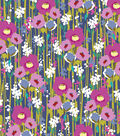 Snuggle Flannel Fabric -Watercolor Floral