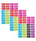 Ashley Productions Die-Cut Magnetic Dominoes, 36 Per Pack, 3 Packs