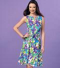 Kwik Sew Pattern K4154 Misses\u0027 Tie-Front Dresses-Size XS-S-M-L-XL