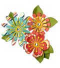 Sizzix Thinlits Lori Whitlock 10 Pack Die-Mix/Match Flowers