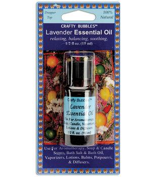 Crafty Bubbles Essential Oil .5oz-Lavender