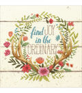 Dimensions Counted Cross Stitch Kit-Rustic Bloom