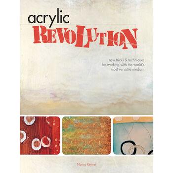 F&W Books-Acrylic Revolution:New Tricks&Techniques
