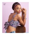 Simplicity Pattern 8549 Misses\u0027 Knit & Woven Bra Tops-Size A (XXS-XXL)