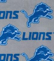 Detroit Lions Fleece Fabric -Gray, , hi-res