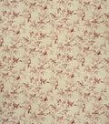 Home Decor 8\u0022x8\u0022 Fabric Swatch-French General Balsamic Rouge