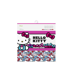 Cricut 12 Pack 12''x12'' Hello Kitty Deluxe Papers