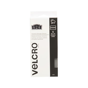VELCRO Brand IS - Extreme 4in x 1in strips, titanium, 5 sets