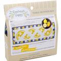 Handmade Happy Table Runner Kit-Lemons