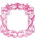 Couture Creations C\u0027est La Vie 3.3\u0027\u0027x3.3\u0027\u0027 Hotfoil Stamp-Intricate Frame