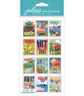 Jolee\u0027s Boutique Dimensional Stickers-Travel Stamps