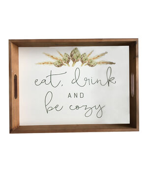 Simply Autumn Tray-Eat, Drink & Be Cozy
