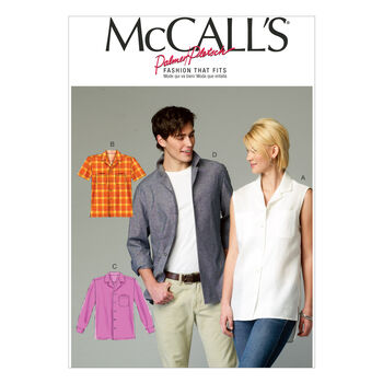 McCall's Pattern M6932 Adult Top-Size S-M-L