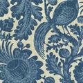 Waverly Sun N Shade Fabric 9\u0022x9\u0022 Swatch-Tucker Resist Chambray