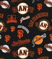 Cooperstown San Francisco Giants Cotton Fabric, , hi-res