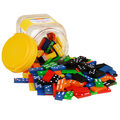 Learning Advantage Double-Six Hardwood Color Dominoes, 168 Pieces