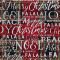 Christmas Cotton Fabric-Fa La La Winter Wishes