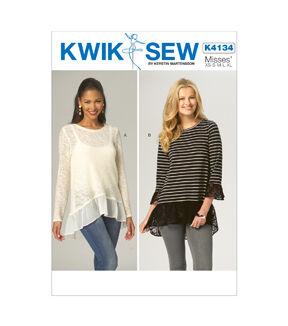 Appliances KWIK-SEW PATTERNS K4025 Boys/Girls Tops Sewing Template All Sizes by KWIK-SEW PATTERNS